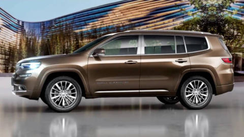 Jeep Grand Commander Salone Auto China 2018