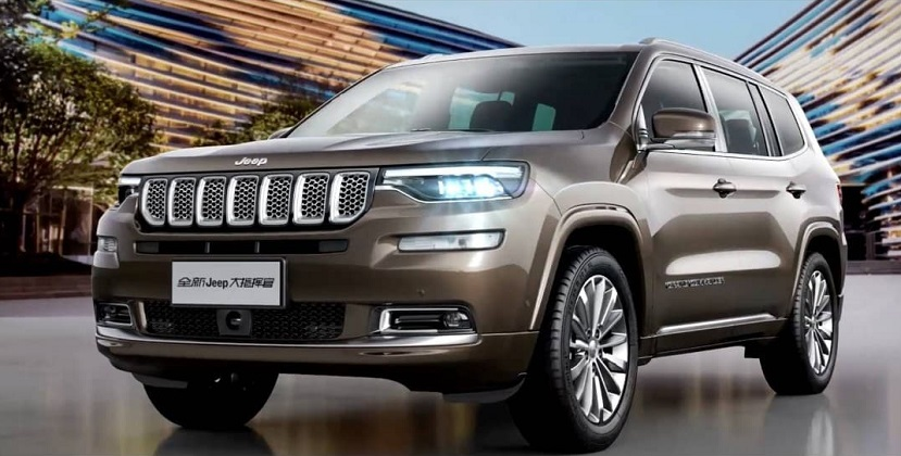 Jeep Grand Commander vendite Cina