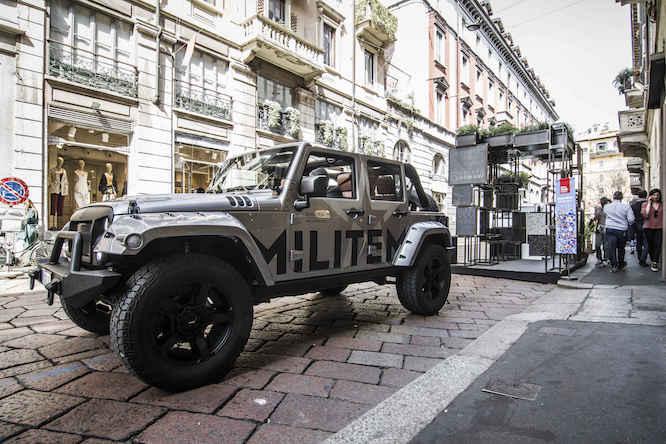 Jeep Wrangler Militem JIII