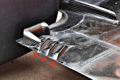 Soluzione adottata dalla McLaren