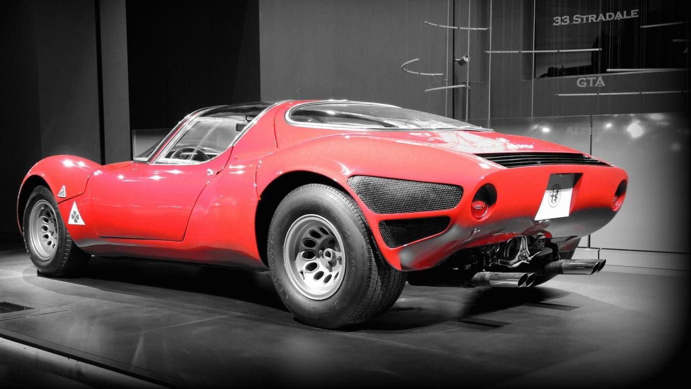 Alfa Romeo 33 Stradale video Concorso Eleganza