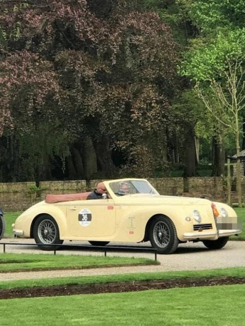 Alfa Romeo 6C 2500 Cabriolet esemplare rubato