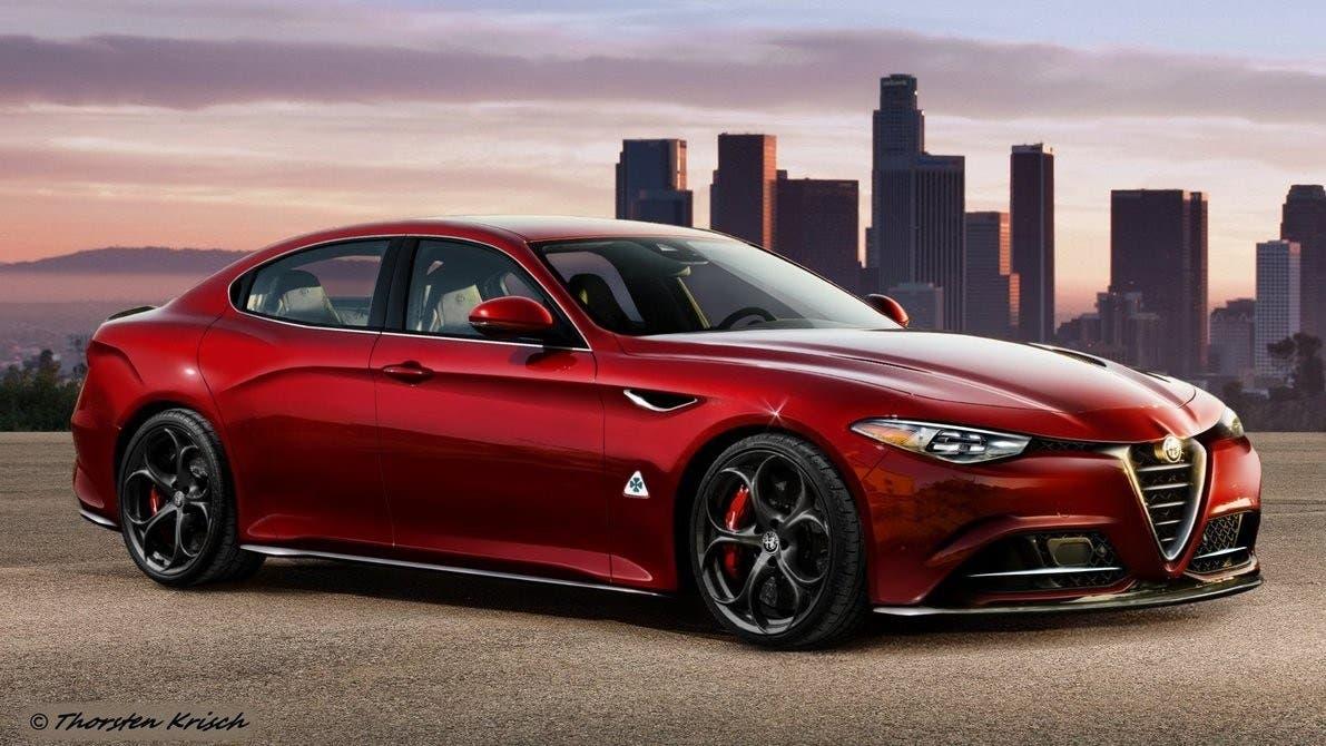 Alfa Romeo Alfetta nuova generazione Investor Day