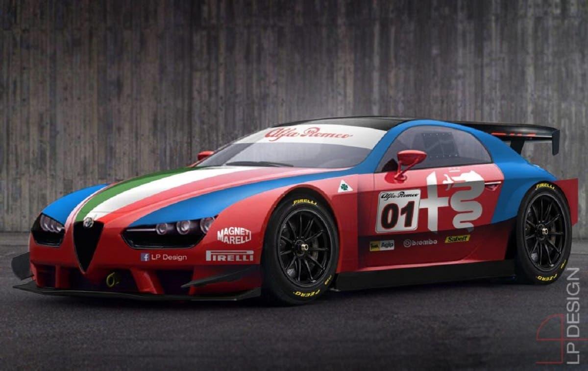 Alfa romeo brera race car una nuova vettura da for Design brera