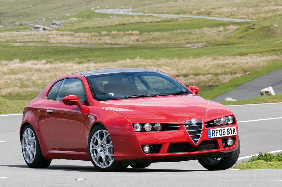 Alfa Romeo Brera Race Car LP Design