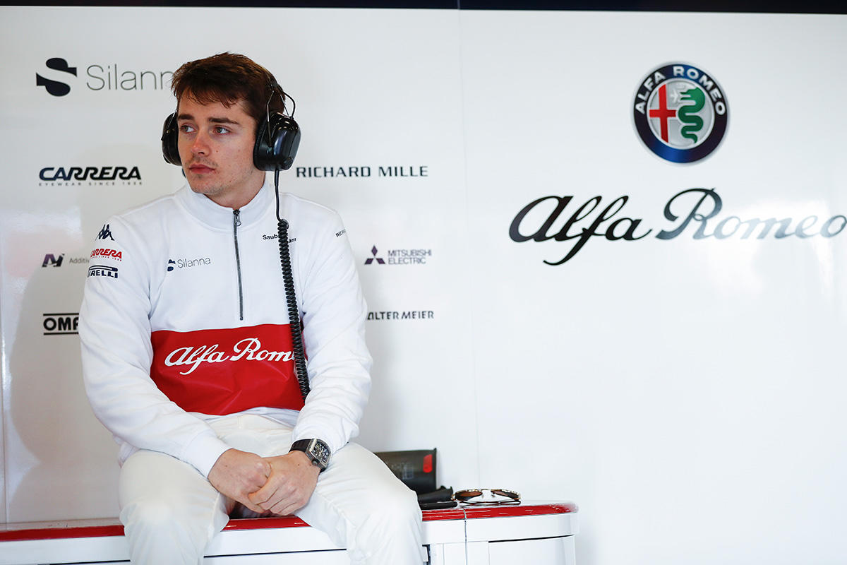 Alfa Romeo Sauber Charles Leclerc GP Monaco