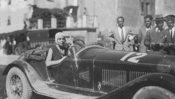 Pilota donna Anna Maria Peduzzi