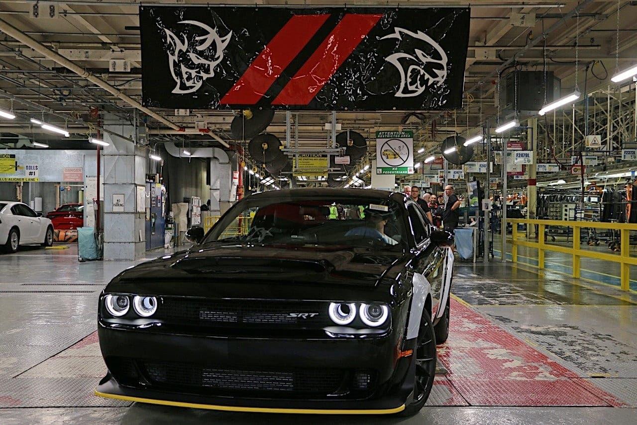 Dodge Challenger SRT Demon esce di produzione