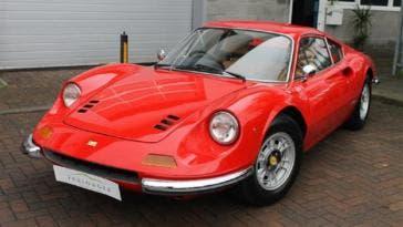Ferrari Dino nuova generazione rumor