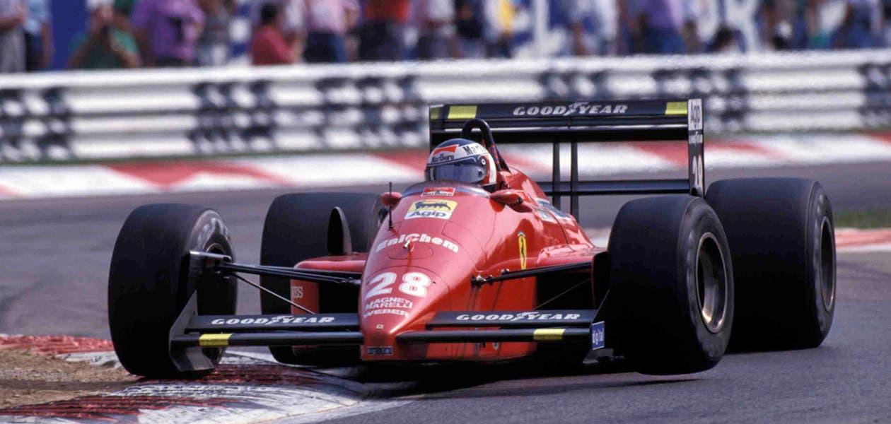 Ferrari F1/87 asta Bonhams