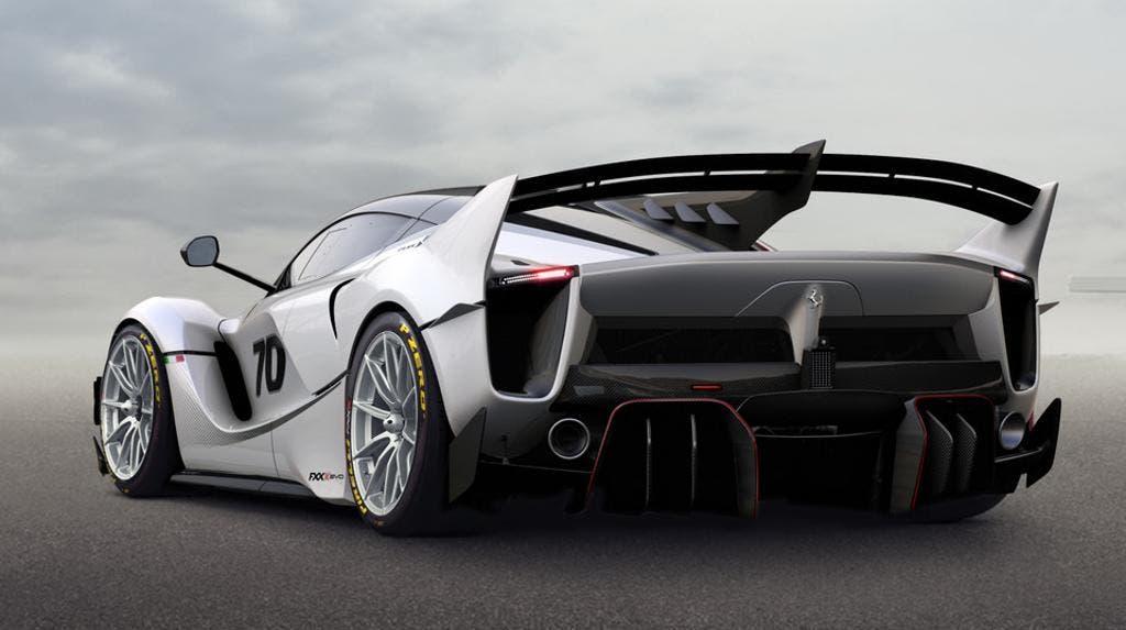 Ferrari FXXK Evo Spa-Franchorchamps video