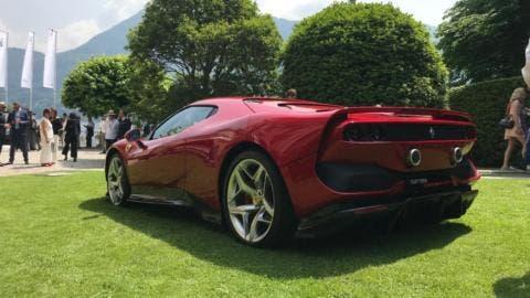 Ferrari SP38 Design