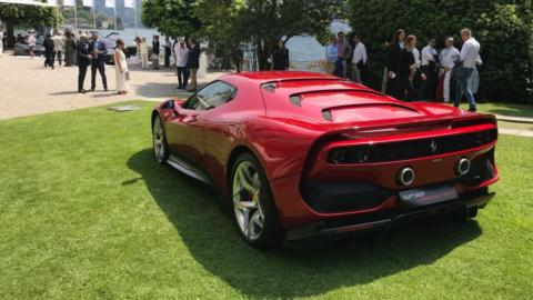 Ferrari SP38 Design