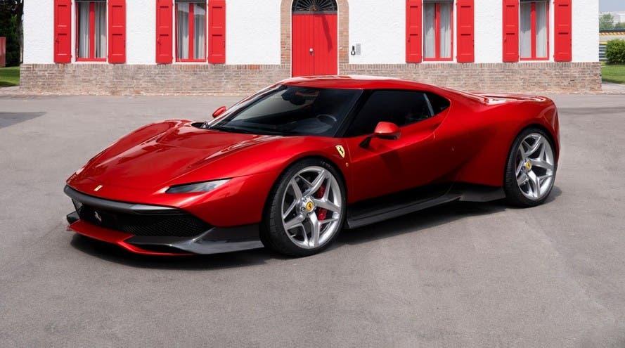 Ferrari SP38 Spider render concept