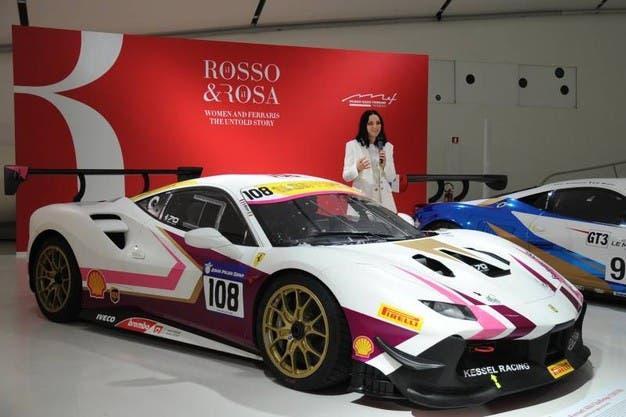 Ferrari mostra Il Rosso & il Rosa