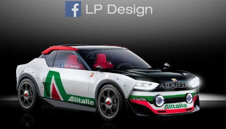 Fiat 131 Abarth LP Design