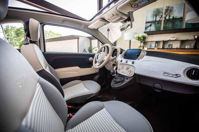 Fiat 500 Collazione tour europeo