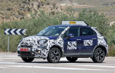 Fiat 500X 2019 foto spia