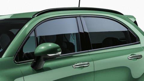 Fiat 500X restyling render