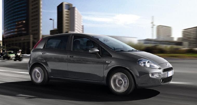 Fiat Punto vendite aprile 2018