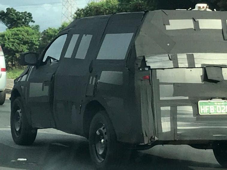 Fiat X1P prototipo foto spia