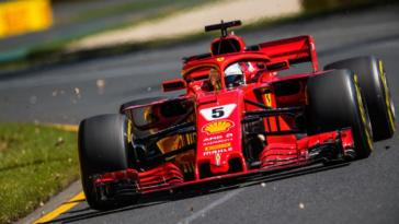 Formula 1 Chase Carey Ferrari