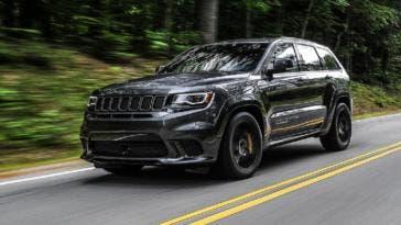 Jeep Grand Cherokee Trackhawk Hennessey Performance