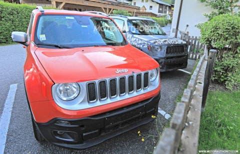 Jeep Renegade 2019 foto spia