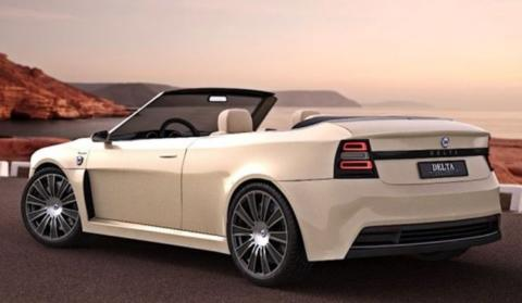 Lancia Delta HF Integrale Cabrio concept