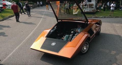 Lancia Stratos HF Zero Concorso d'Eleganza