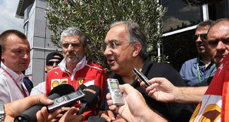Marchionne Ferrari Liberty Media