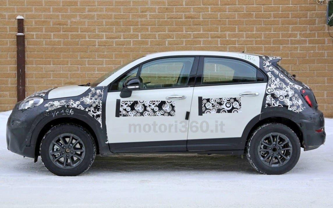 Nuova Fiat 500X restyling spy foto