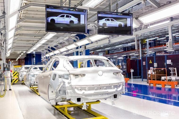 Alfa Romeo Cassino Plant Produzione Giulia
