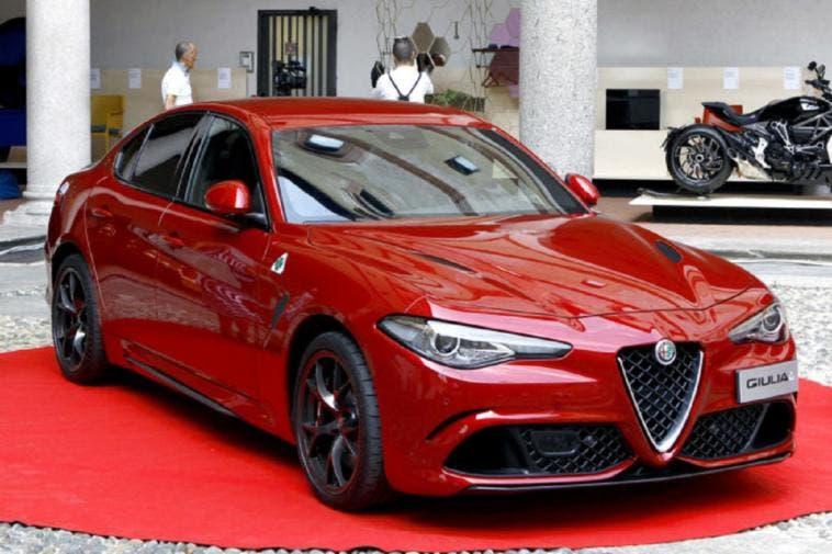 Alfa Romeo Giulia Compasso d'Oro ADI