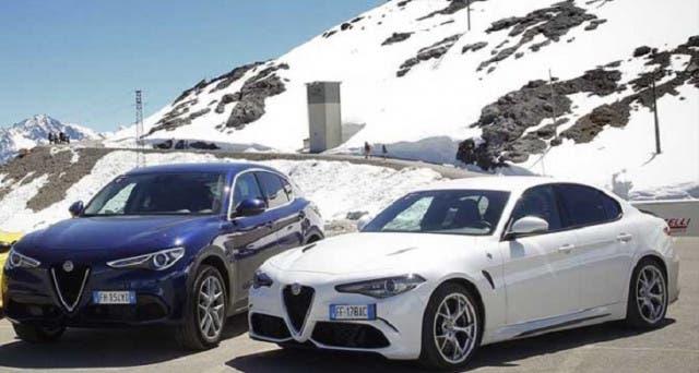 Alfa Romeo Giulia e Stelvio a passo lungo Cina