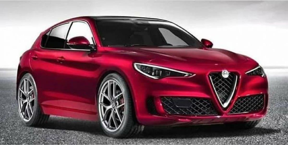 Alfa Romeo Giulietta crossover render