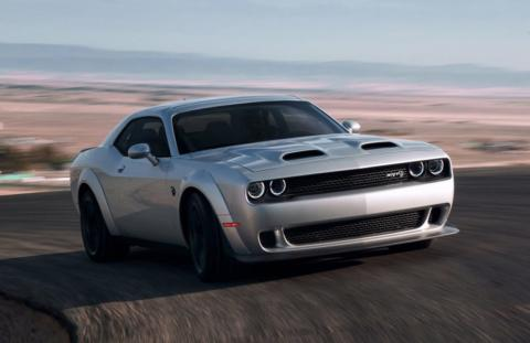 Dodge Challenger 2019 ufficiale