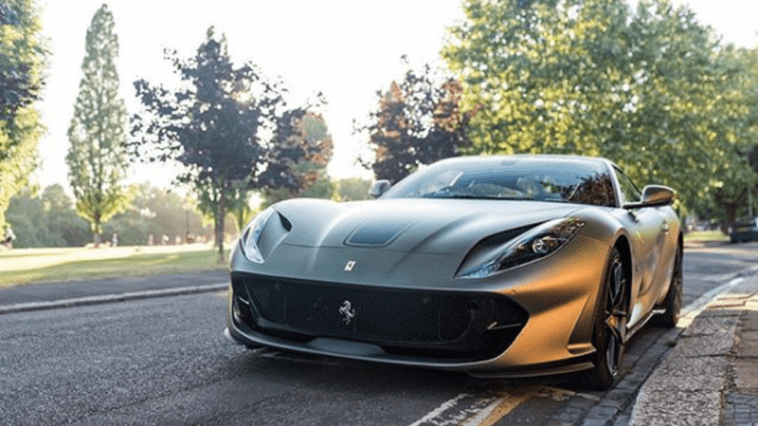 Ferrari 812 Superfast Gordon Ramsay