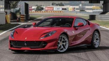 Ferrari 812 Superfast Mugello video