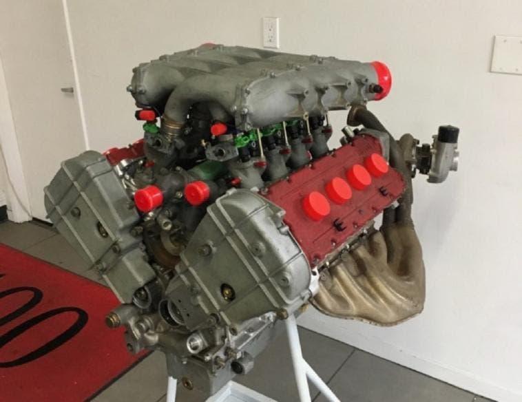 Ferrari F40 motore V8 biturbo Bring a Trailer
