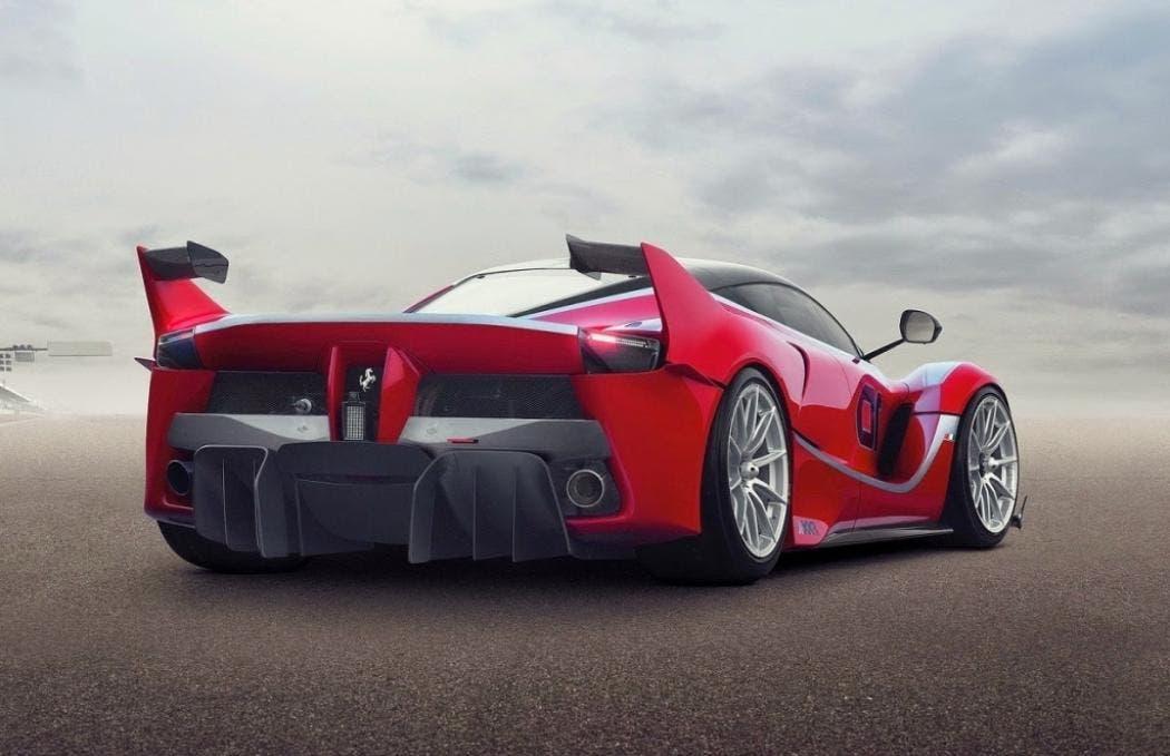 Ferrari FXX K Spa-Francorchamps