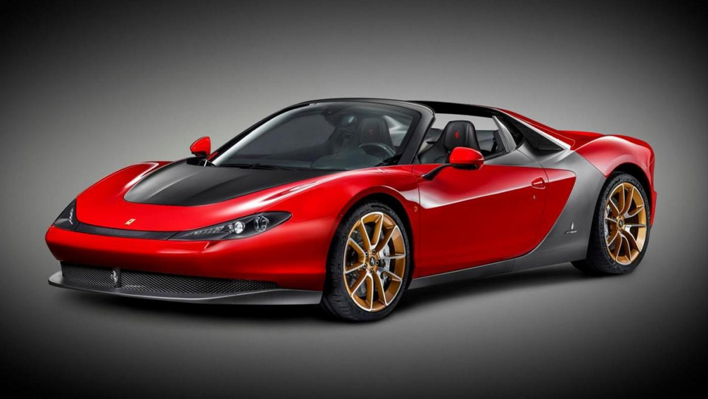 Ferrari Mythos Sergio Lancia Florida II Salone Torino
