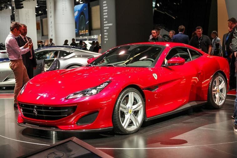 Ferrari Portofino pneumatici Bridgestone