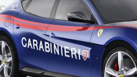 Ferrari SUV Carabinieri render