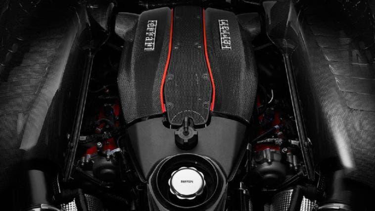 Ferrari motore V8 biturbo 3.9 Motore Anno 2018