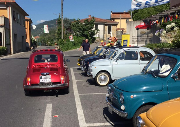 Fiat 500 35ª edizione meeting Garlenda
