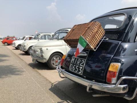 Fiat 500 Raduno Vescio Racing 2018