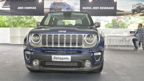 Jeep Renegade MY 19 foto reali