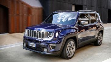 Jeep Renegade premio sicurezza