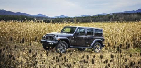 Jeep Wrangler 2018 Italia metà luglio